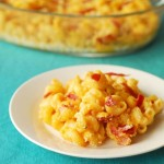 Butternut Squash Pancetta Mac and Cheese