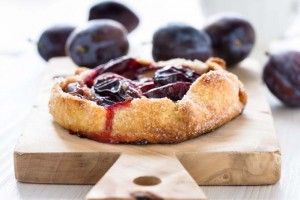 Make A Delicious, Rustic-Style Plum Galette