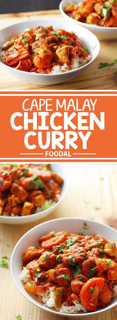 Cape malay chicken and vegetable curry recipe foodal looking for something a little different for dinner try this curry recipe that was developed forumfinder Image collections