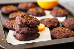 Chelsea's Double Chocolate Orange Cookies