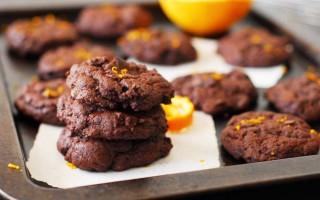 Chelsea's Double Chocolate Orange Cookies