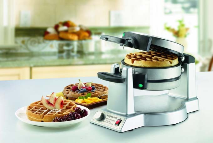 Waring Pro WMK600 Double Belgian-Waffle Maker Review | Foodal.com