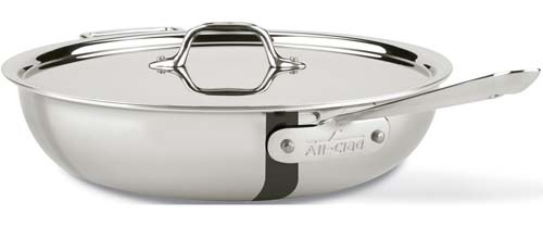All-Clad 440465 Stainless Steel 4-Qaurt Weeknight Pan | Foodal.com