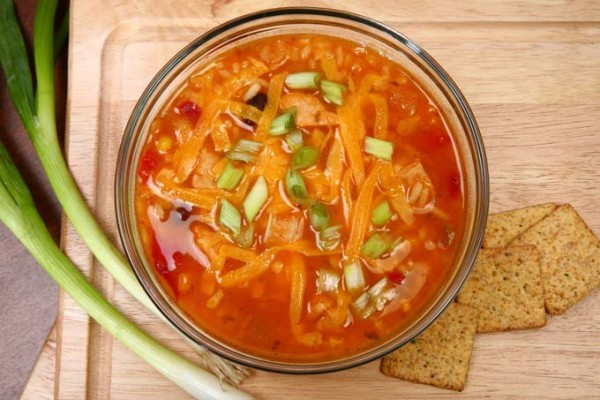 Authentic Spicy Creamy Vegetarian Tortilla Soup - Foodal.com
