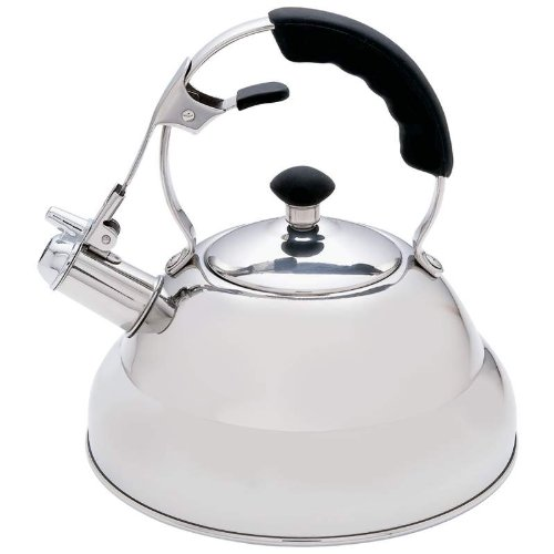 Chef's Secret 2-75qt Surgical Stainless Steel Tea Kettle | Foodal.com
