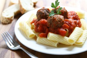Goulash with Turkey Meatballs