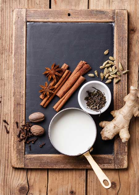 Masala Spiced Chai Ingrediants | Foodal.com