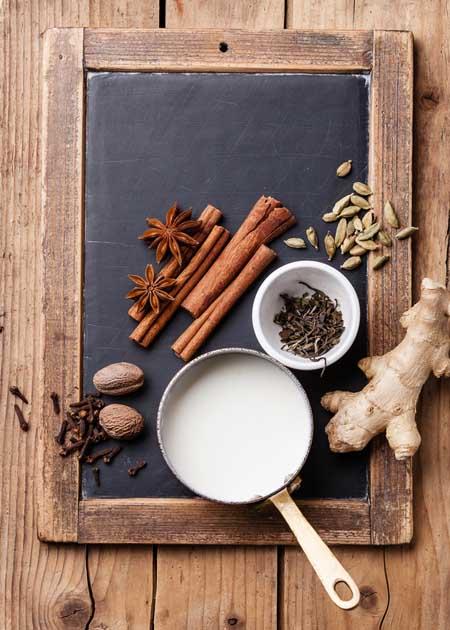 Masala Spiced Chai Ingrediants | Foodal.com