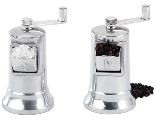 Perfex Salt and Pepper Mill Set | Foodal.com