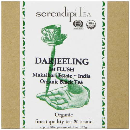 SerendipiTea Darjeeling First Flush India Organic Black | Foodal.com