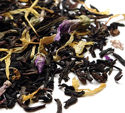 Lady Grey Blue Organic Black Loose Leaf | Foodal.com