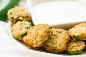 Deep-Fried Vegan Jalapeno Poppers