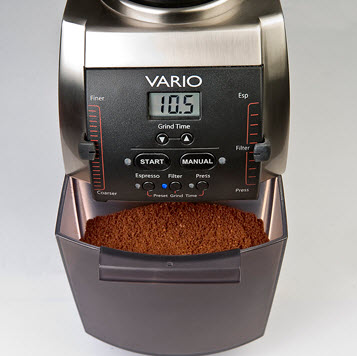 The Baratza Vario can grind to 240 different settings | Foodal.com