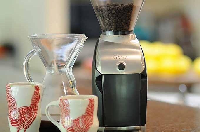 Baratza Virtuoso Ceramic Conical Burr Coffee Grinder   Foodal.com
