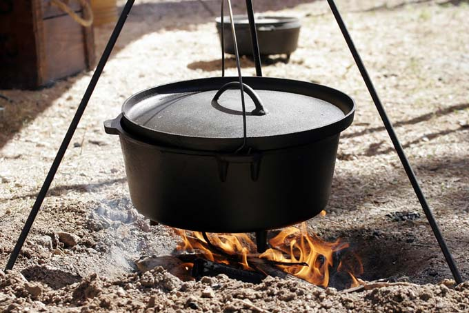 Cast Iron Camp Stove | Foodal.com