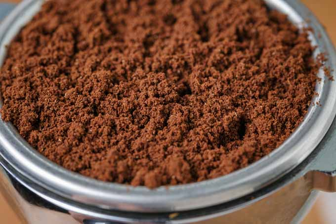 Coffee grounds made with a burr grinder | Foodal.com
