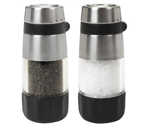 OXO Good Grips Salt and Pepper Grinder Set | Foodal.com