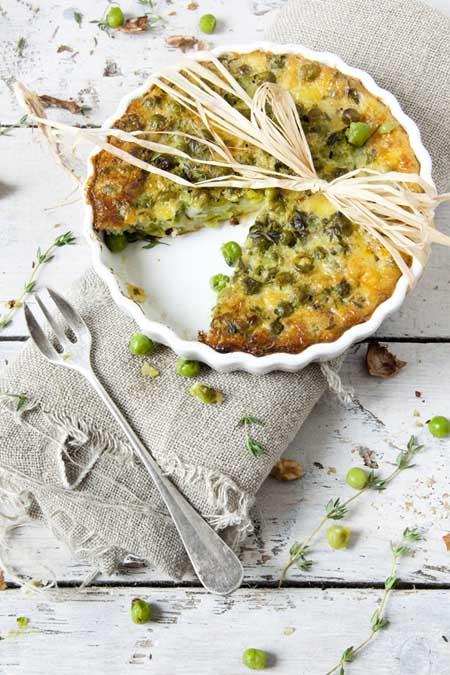 Pea Quiche | Foodal.com