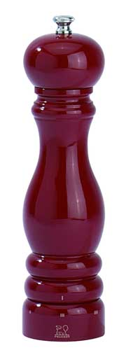Peugeot Paris U'Select 9-Inch Pepper Mill Red Lacquer | Foodal.com