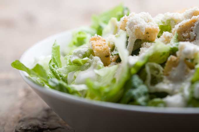 Traditional Caesar Salad | Foodal.com