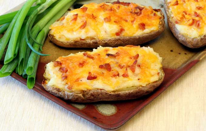 Twice Baked Potatoes | Foodal.com