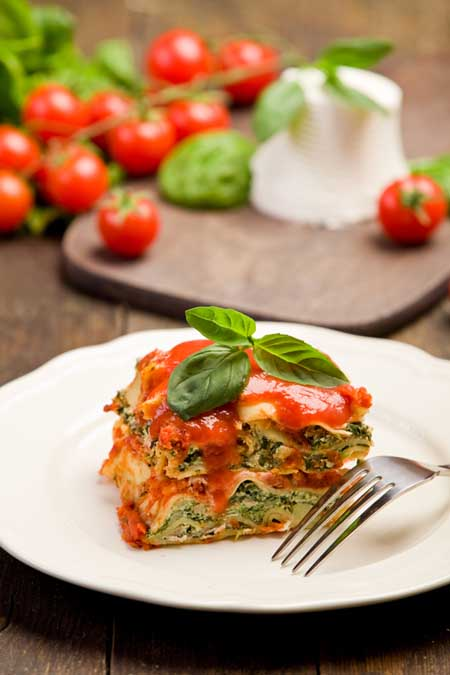 Vegetable lasagna | Foodal.com
