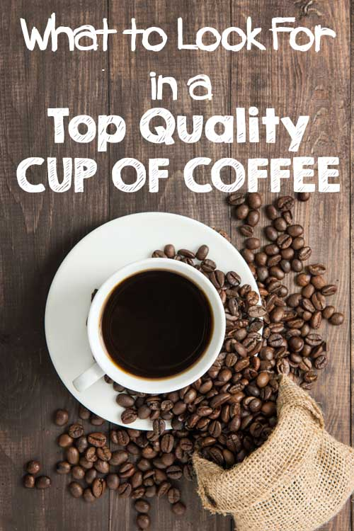 What makes a cup of coffee taste good? What separates the wheat from the chaff? Read our introductory piece to find out more. https://foodal.com/drinks-2/coffee/guides-coffee/a-top-quality-cup/