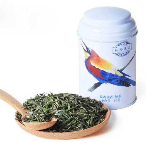 Wuyutai Mingqian Organic Sparrow Tongue Que She Green Tea