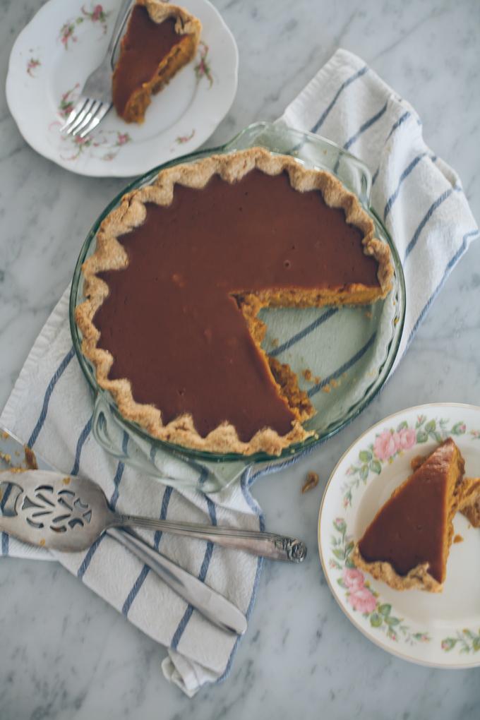 make a pie - step 15 - slice pie