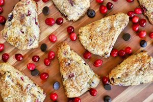 Bake Up a Batch of Cranberry Chocolate Chip Scones for Breakfast