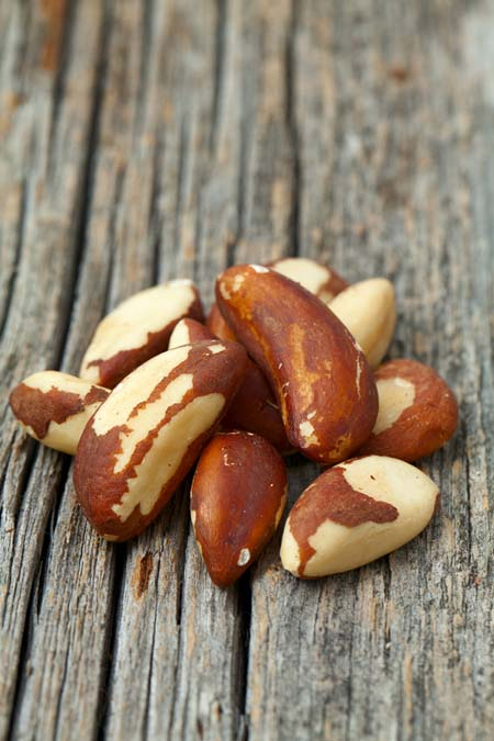 Brazil Nuts - high in selenium which may help prevent cancer | Foodal.com