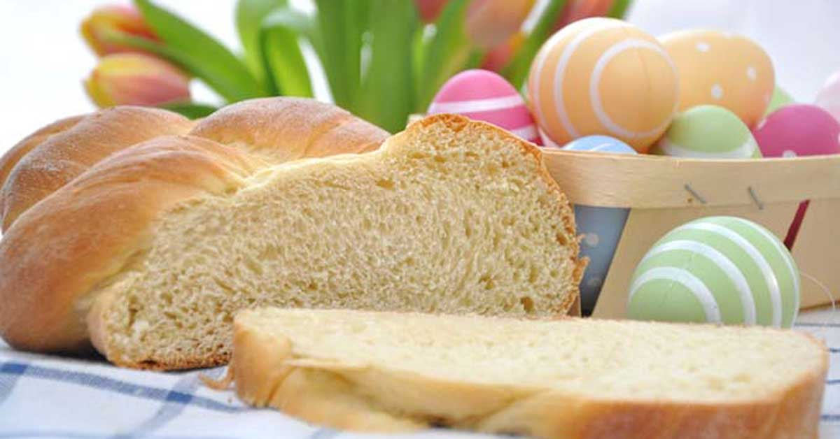 Celebrate With A Traditional Italian Easter Egg Bread Foodal