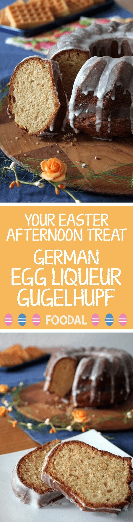 Have fun with Easter using this fast and simple to prepare German Gugelhupf cake. Regardless of whether you are invited to an Easter luncheon or hosting a special event at home , this particular pastry is the ideal answer whenever there is you need to whip up something in a jiffy. https://foodal.com/holidays/easter/your-easter-afternoon-treat-egg-liqueur-gugelhupf/