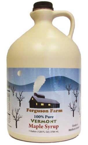Ferguson Farms 100 percent Pure Vermont Maple Syrup - Grade A Fancy Light | Foodal.com