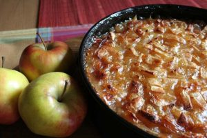 Raise A Toast To The German Riesling Apple Cake