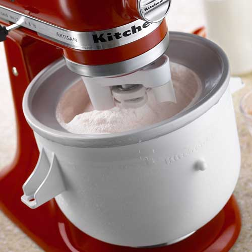 Kitchenaid 2 Quart Ice Cream Maker Stand Mixer Attachment
