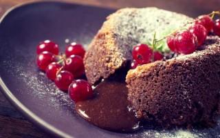 Lava Cake: Molten Chocolate Baked Pudding