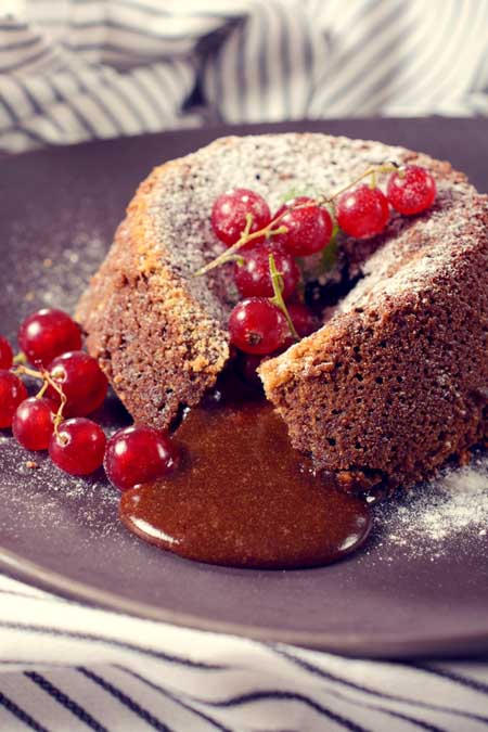 Molten Chocolate Baked Pudding | Foodal
