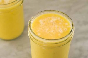 Orange Ginger Sunshine Smoothie: Tasty Nutrition to Start Your Day