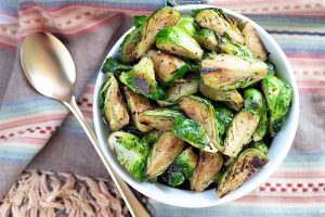 Spice Up Your Meal with Caramelized Red Chili Brussels Sprouts