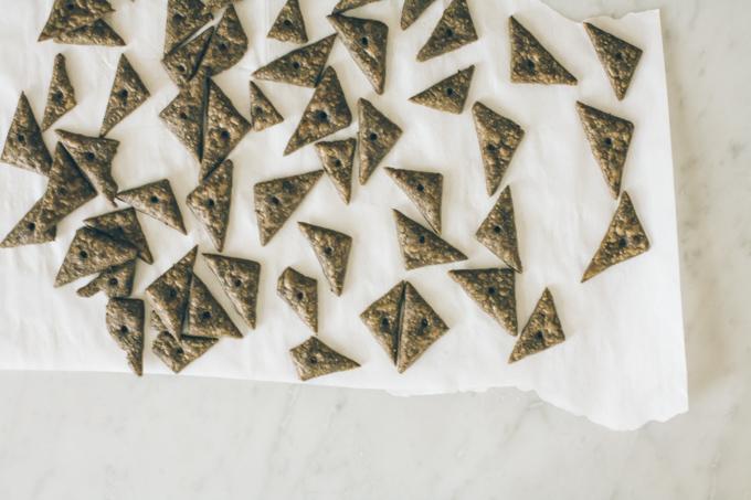 buckwheat cheese crackers