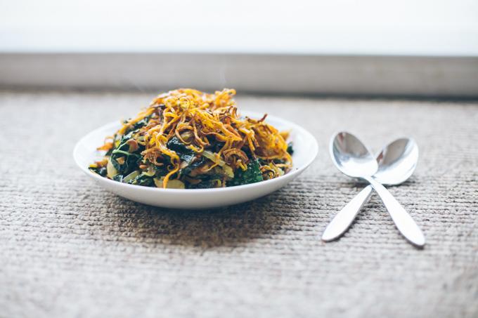spicy kale peanut bowls-8