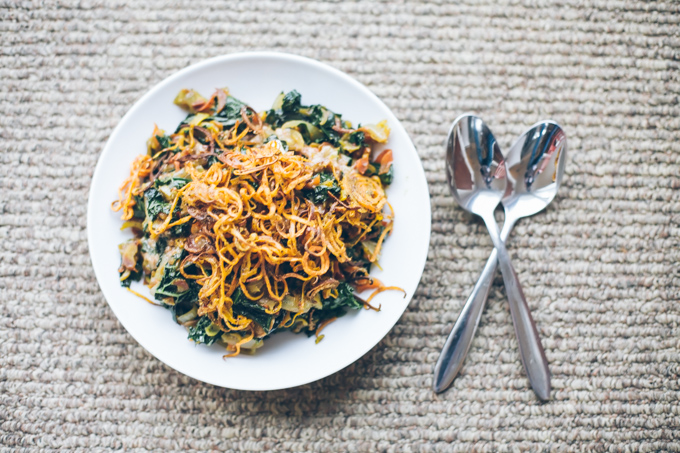 spicy kale peanut bowls / food loves writing