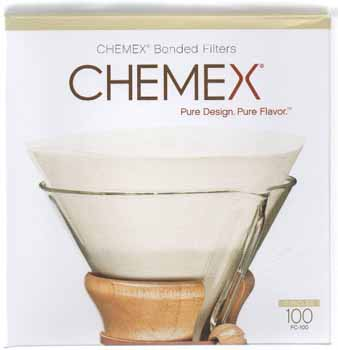Chemex Pre Folded Circle Coffee Filter | Foodal.com