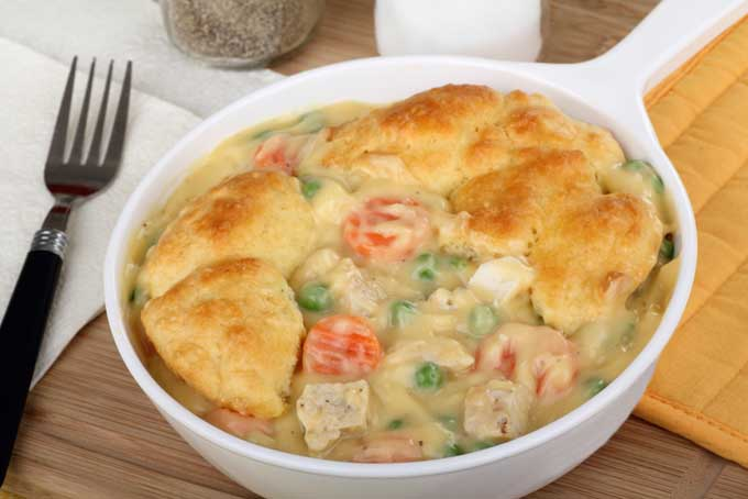 Chicken Stew with Biscuits Recipe | Foodal.com