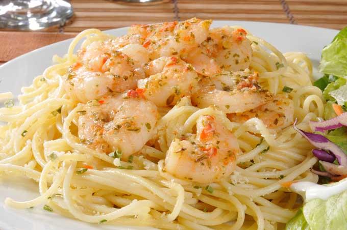 Classic Baked Shrimp Scampi | Foodal.com