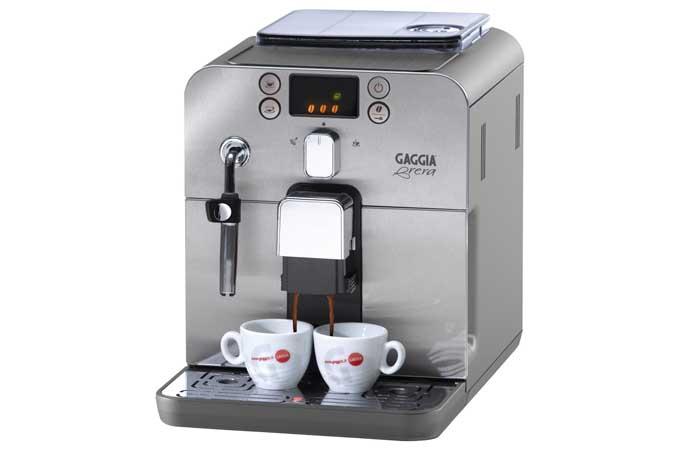 gaggia brera superautomatic espresso maker review foodal. Black Bedroom Furniture Sets. Home Design Ideas