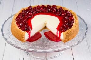 Grandma Katie's Famous Cherry Cheesecake