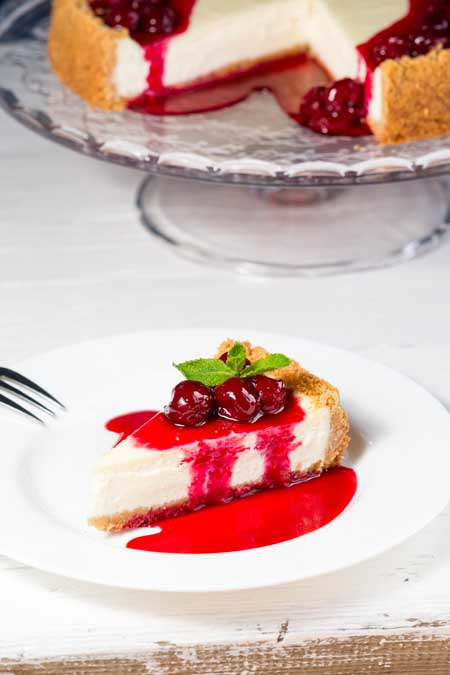 Grandma Katie's Cherry Cheesecake Recipe | Foodal.com