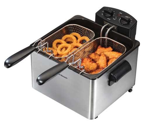 Save Hamilton Beach 35034 Professional Style Deep Fryer